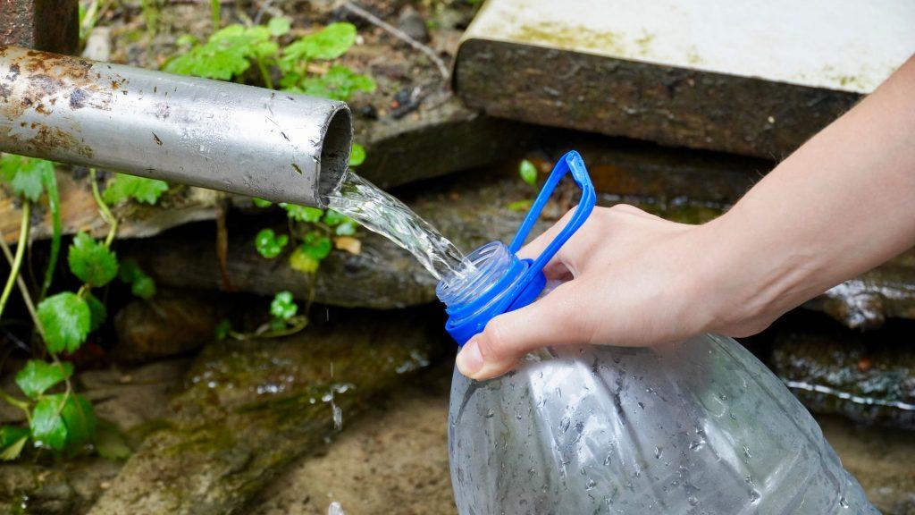 réutilisation des bouteilles enplastique